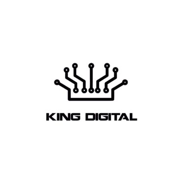 king digital logo